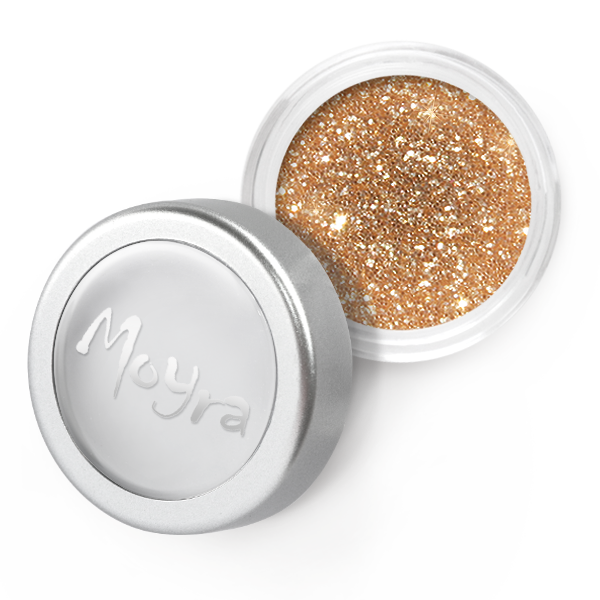 Moyra - 06 Dark Gold Glitter Powder