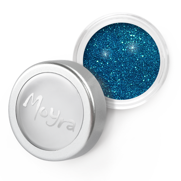 Moyra - 24 Light Blue Glitter Powder