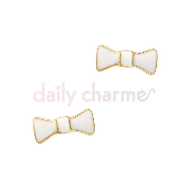 Daily Charme - Bow Tie / White