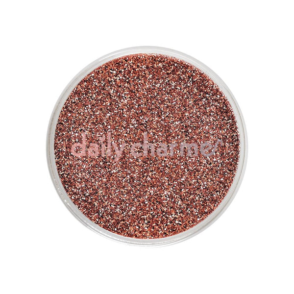 Daily Charme - Metallic Glitter Dust / Rose Gold