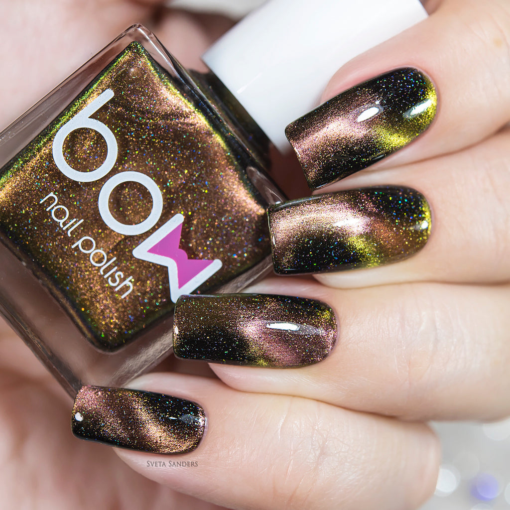 Bow Nail Polish - Meteorite Holo (Magnetic)   Whats Up Nails