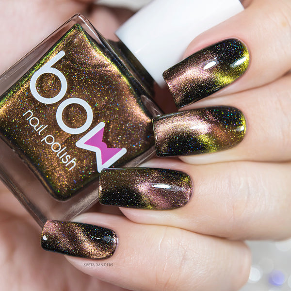 Bow Nail Polish - Meteorite Holo (Magnetic)
