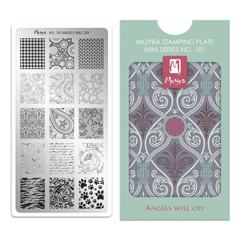 Moyra - 101 Mini Stamping Starter Kit
