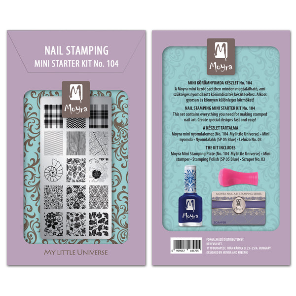 Moyra - 104 Mini Stamping Starter Kit