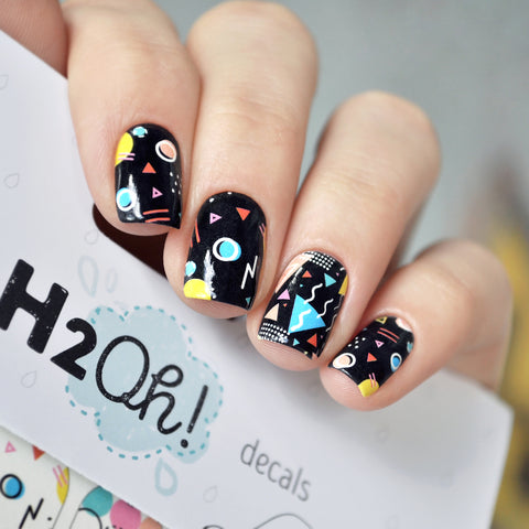 H2Oh! - N001 Water Decals