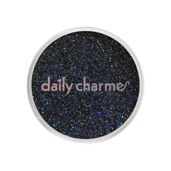 Daily Charme - Holographic Glitter Dust / Midnight Shadow