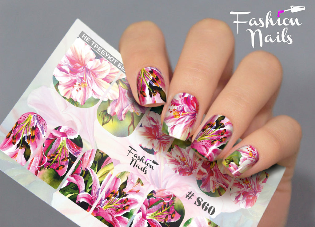 Fashion Nails - Stretch 60 Water Decals
