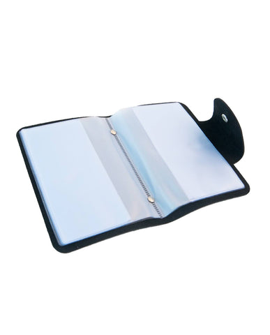 UberChic Beauty - Mini Black Pleather Folder