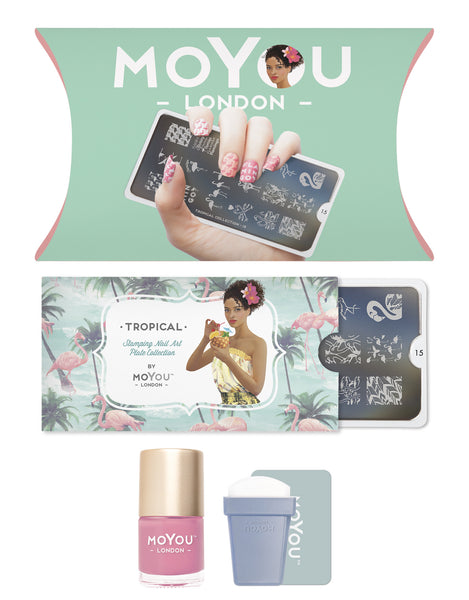 MoYou-London - Tropical 15 Stamping Kit