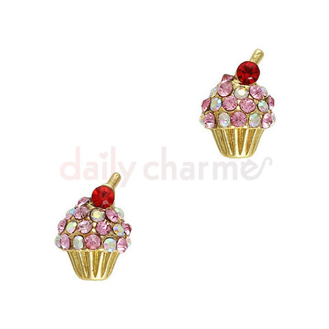Daily Charme - Cherry Top Cupcake