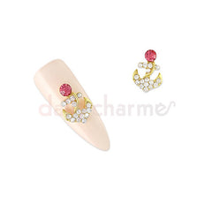 Daily Charme - Crystal Anchor / Pink