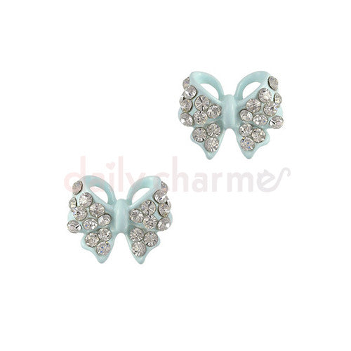 Daily Charme - Pastel Ribbon Bow / Blue
