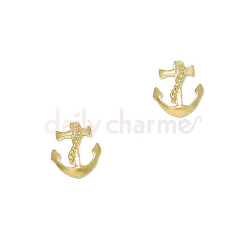 Daily Charme - Vintage Anchor / Gold