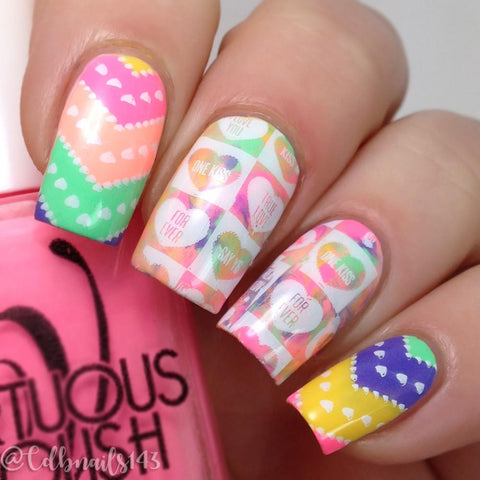 Lina Nail Art Supplies - All About Love 01