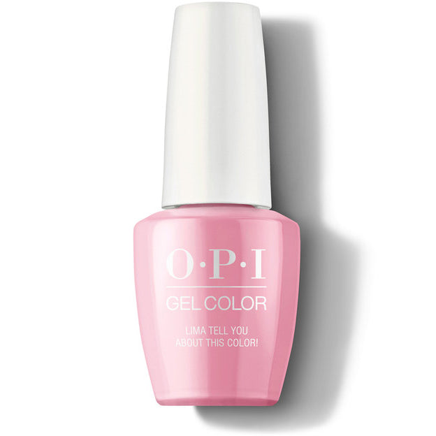 OPI Gel Color - Lima Tell You About This Color