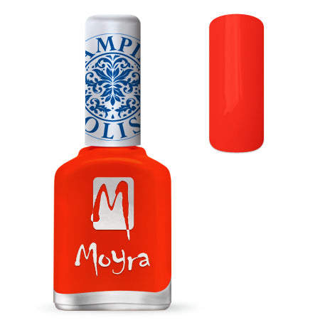 Moyra - SP 21 Neon Red Stamping Polish