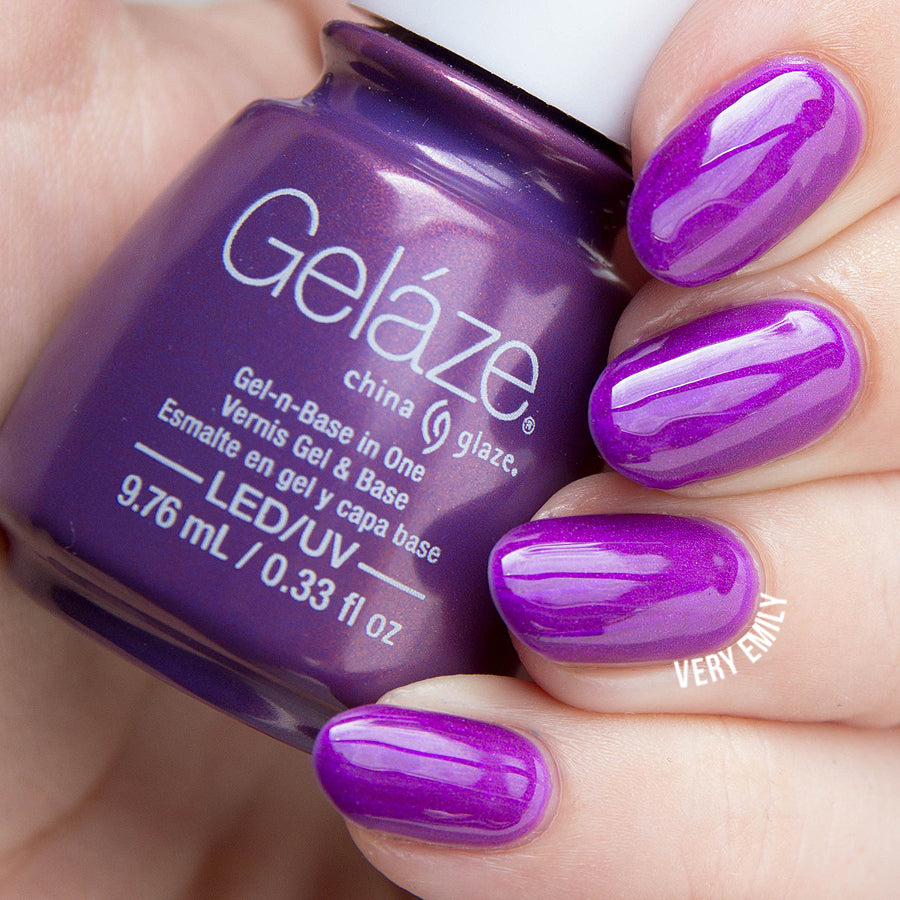 China Glaze Gelaze - Coconut Kiss Gel Polish