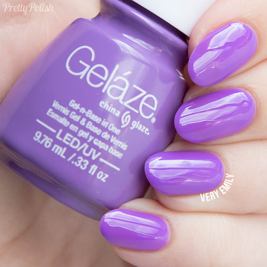 China Glaze Gelaze - That's Shore Bright Gel Polish