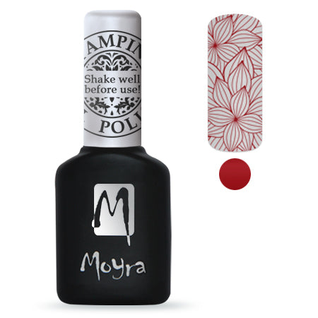 Moyra - SGP 06 Red Gel Stamping Polish