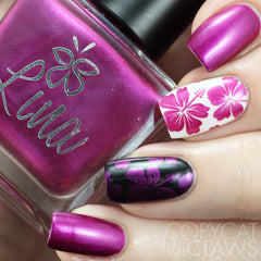 Lina Nail Art Supplies - Your Float or Mine? Stamping Polish