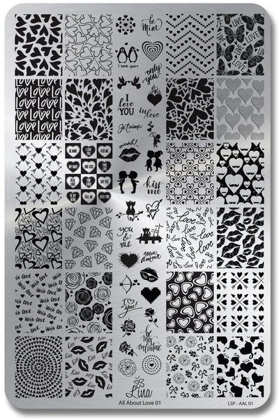 Stamping Plates By Lina Nail Art Supplies Whats Up Nails