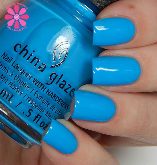 China Glaze - DJ Blue My Mind