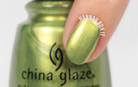 China Glaze - Trash Can-Do Attitude