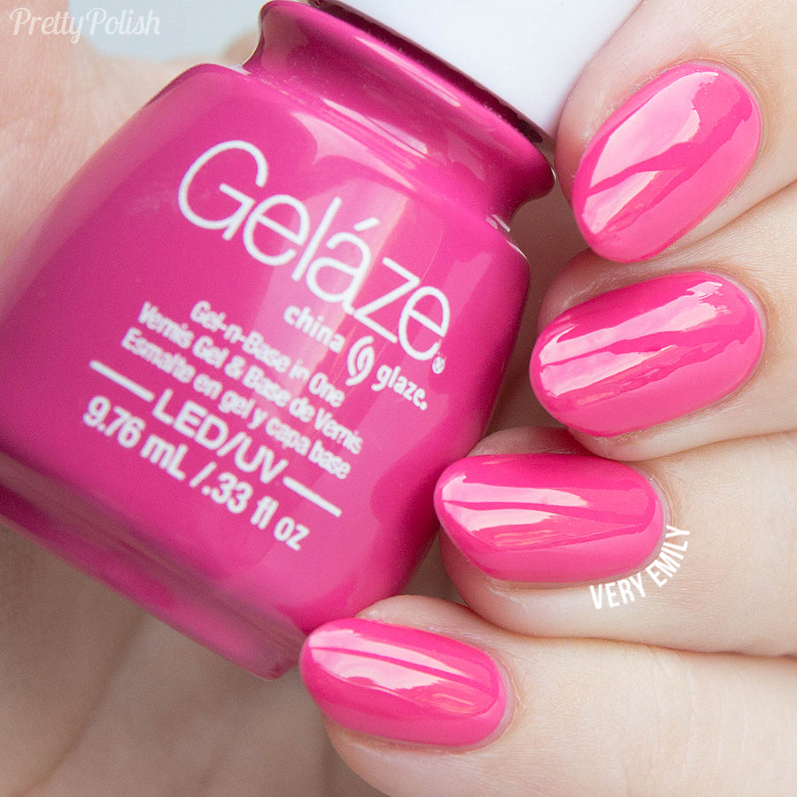 China Glaze Gelaze - Rich & Famous Gel Polish | Whats Up Nails