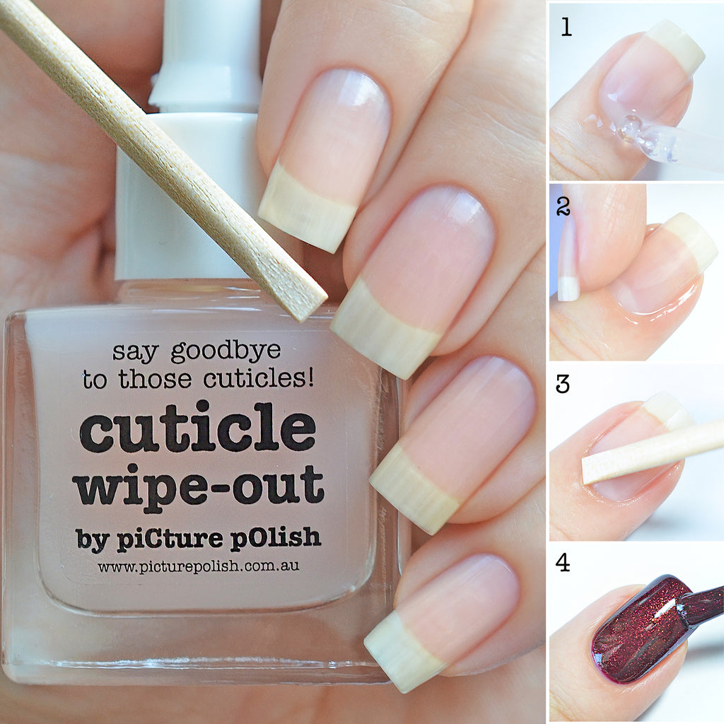Picture Polish - Cuticle Wipe-Out   Whats Up Nails
