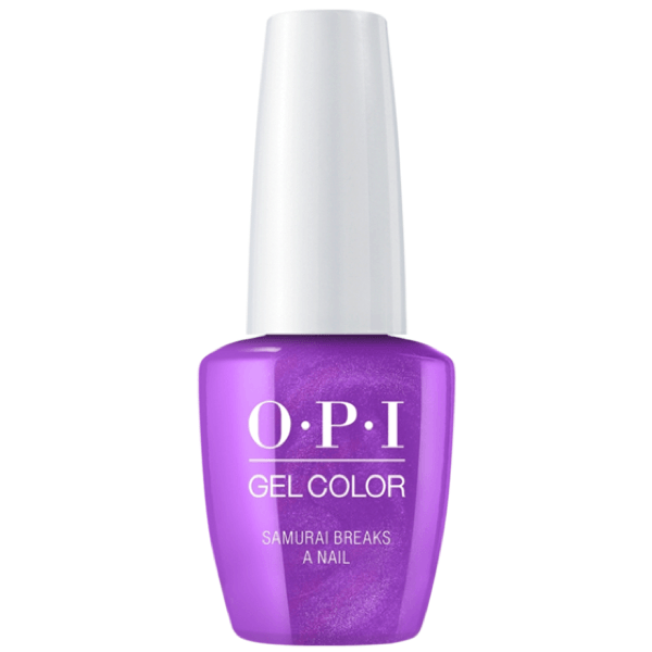 OPI Gel Color - Samurai Breaks A Nail