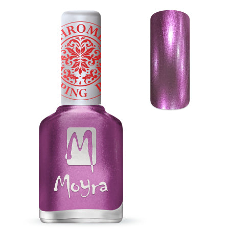 Moyra - SP 28 Chrome Purple Stamping Polish