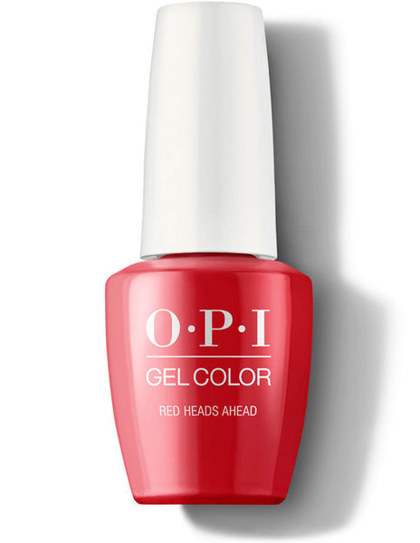 OPI Gel Color - Red Heads Ahead