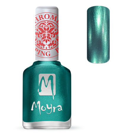 Moyra - SP 27 Chrome Green Stamping Polish