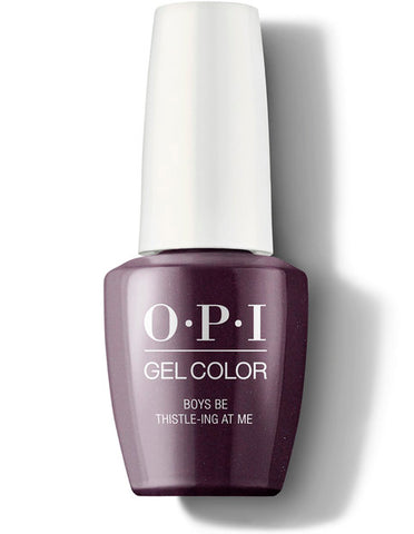 OPI Gel Color - Boys Be Thistle-ing at Me