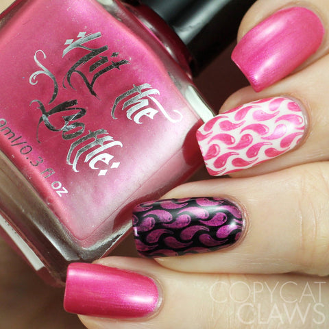 Hit The Bottle - Psycho Pink Stamping Polish
