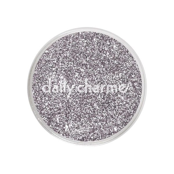 Daily Charme - Metallic Glitter Dust / Vintage Silver