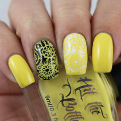 Hit The Bottle - Banana Colada Stamping Polish