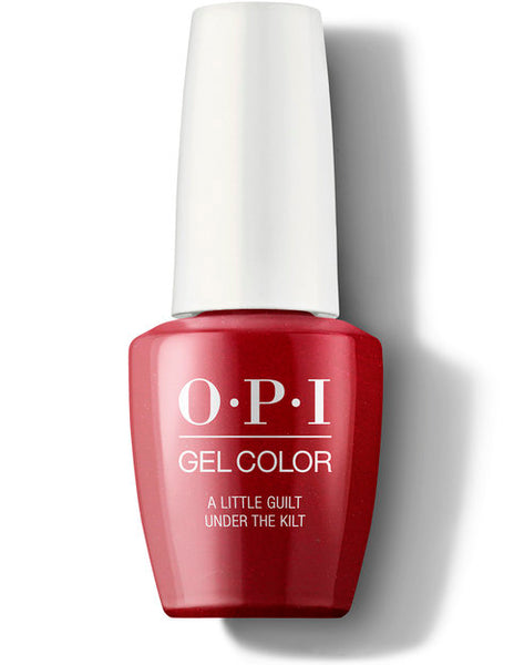 OPI Gel Color - A Little Guilt Under The Kilt