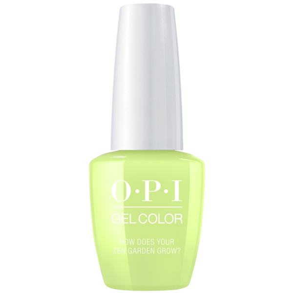 OPI Gel Color - How Does Your Zen Garden Grow?