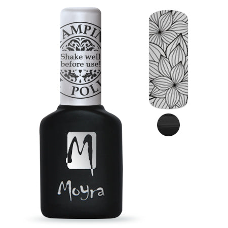 Moyra - SGP 01 Black Gel Stamping Polish