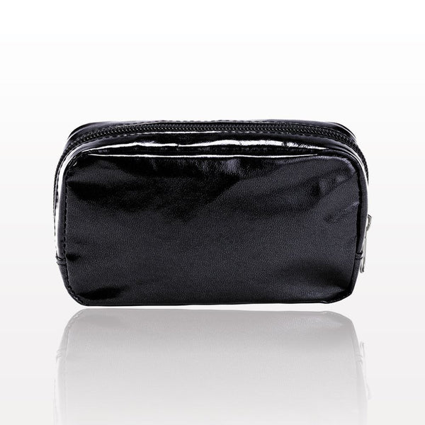ONEderful - Black Metallic Small Cosmetic Bag
