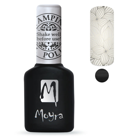 Moyra - Black Foil Gel Stamping Polish