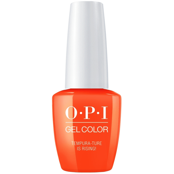 OPI Gel Color - Tempura-ture is Rising