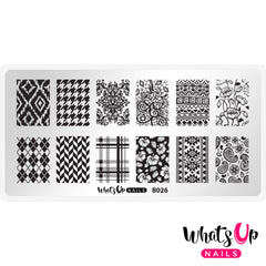 Whats Up Nails - B026 Fashion Prints