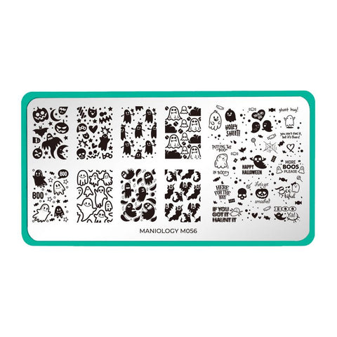 Maniology - Limited Edition: 4-Piece Boo Ya Halloween Nail Stamping Bundle