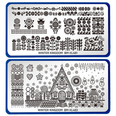 Bundle Monster - Sugar Coated: Nail Stamping Starter Kit