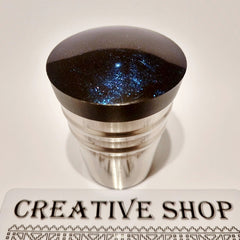 Creative Shop - Black/Blue Stamper & Scraper