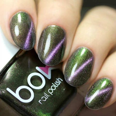 Bow Nail Polish - Omen (Magnetic)
