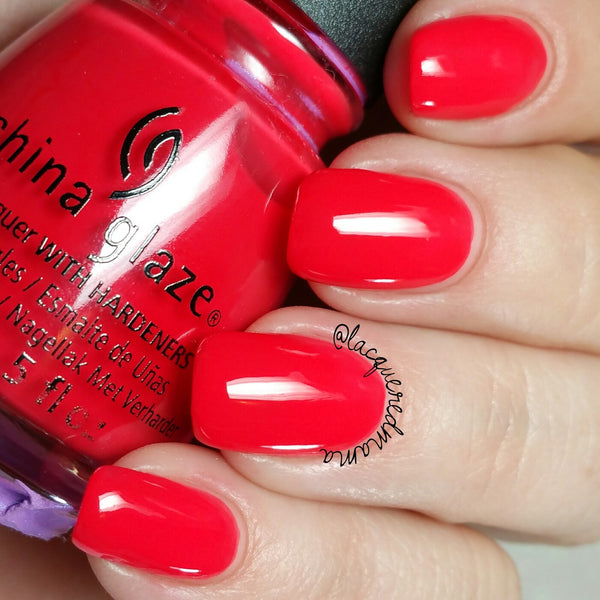 China Glaze - Hot Flash
