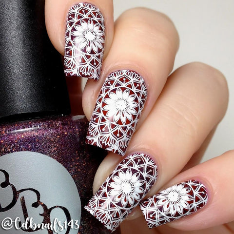 Lina Nail Art Supplies - Mad For Mandalas 01